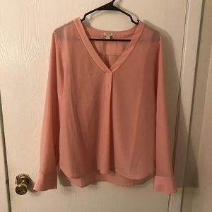 J. Crew V-neck blouse